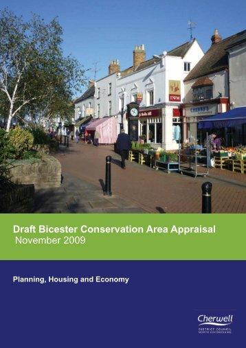 Draft Bicester Conservation Area Appraisal November 2009