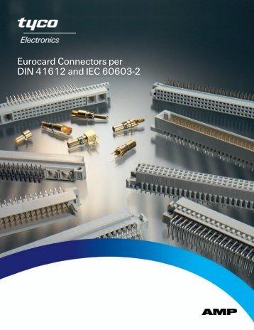 Eurocard Connectors per DIN 41612 and IEC 60603-2