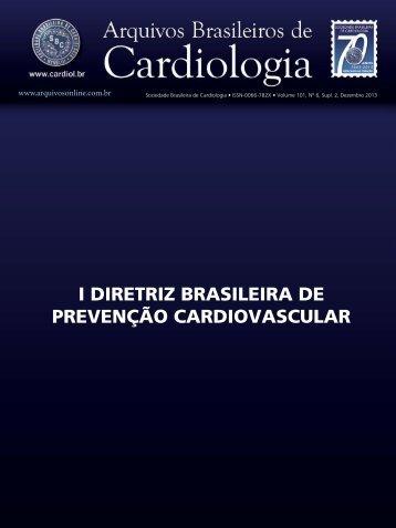 I Diretriz Brasileira de Prevenção Cardiovascular - Publicações