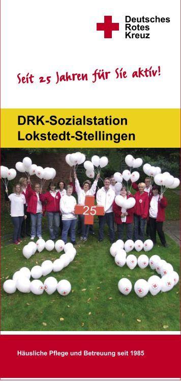 Seit 25 Jahren für Sie aktiv! - DRK-Sozialstation Lokstedt/Stellingen