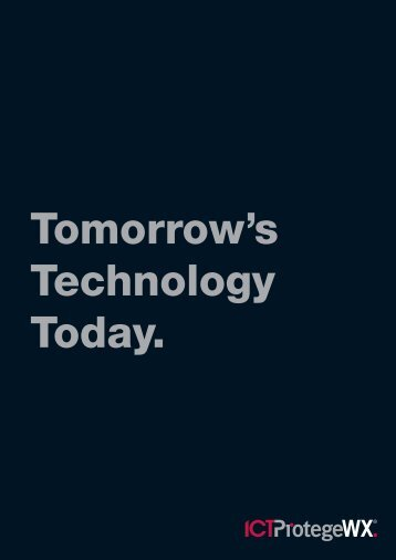 Tomorrow's Technology Today. - ISCS Security Technology Provider ...