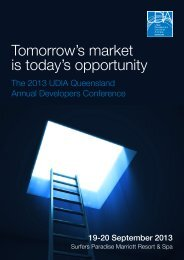 Tomorrow's market is today's opportunity - UDIA