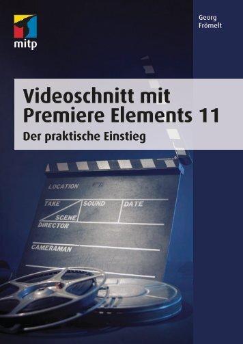 Videoschnitt mit Premiere Elements 11