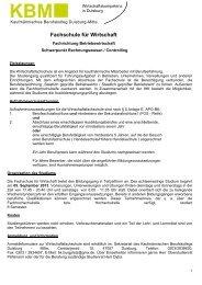 Informationen - Kaufmännisches Berufskolleg Duisburg-Mitte