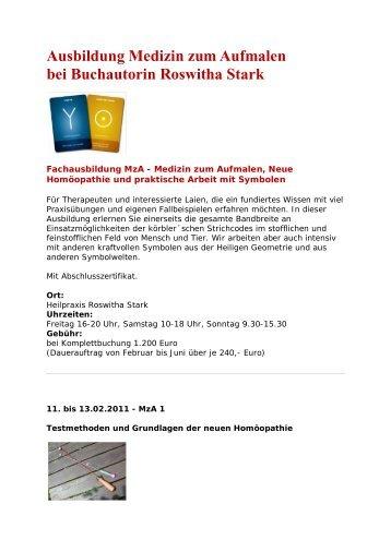 Ausbildung Medizin zum Aufmalen bei ... - Ypsilon-portal.de