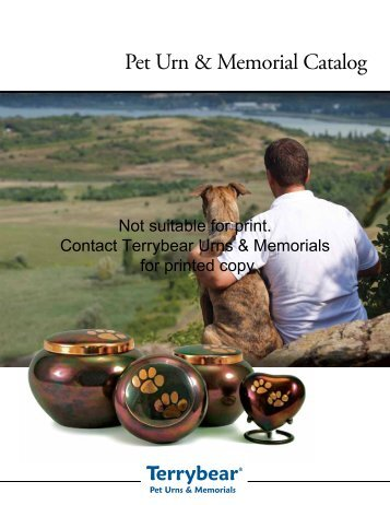 Terrybear Pet Catalog - Loyal Companions Pet Cremation ...