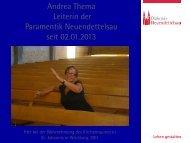 Erweiterte Biografie von Andrea Thema zum Download - paramentik
