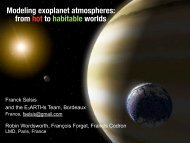 Modeling exoplanet atmospheres: from hot to habitable worlds