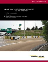 Product Information - Barrier Systems, Inc.