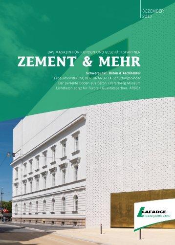 ZEMENT & MEHR - Lafarge
