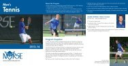 Tennis - Luther College