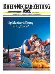 Theatermagazin Nr. 5 für September/Oktober/November 2013