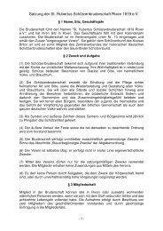 Satzung aktuell - St. Hubertus Rixen 1919 e.V.