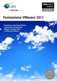 Formazione VMware 2011 - Fast Lane