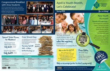 Spring 2013 Newsletter - Rome Teachers Federal Credit Union