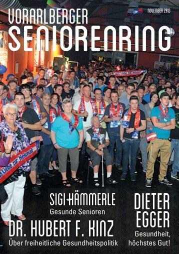 Ausgabe November 2013 - Vorarlberger Seniorenring