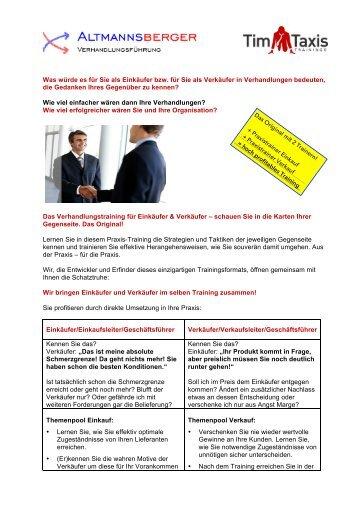 Details zum Training, den Modulen und Anmeldung als PDF abrufen