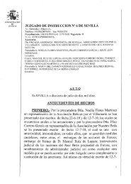 Por la procuradora Dña. Noelia Flores Martínez en representación d