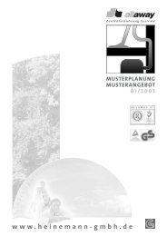 Musterplanung - Heinemann GmbH
