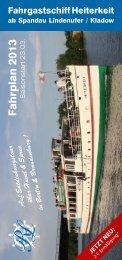 Fahrplan 2013 als PDF - Reederei Lüdicke
