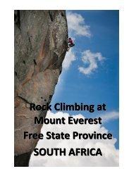Rock Climbing at Mout Everest - Mount Everest Guest Farm