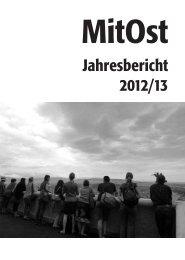 Jahresbericht 2012/13 - MitOst e.V.