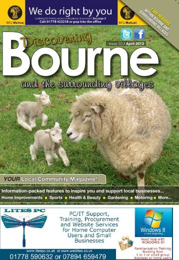 Discovering Issue 20 / April 2013 - Discovering Bourne