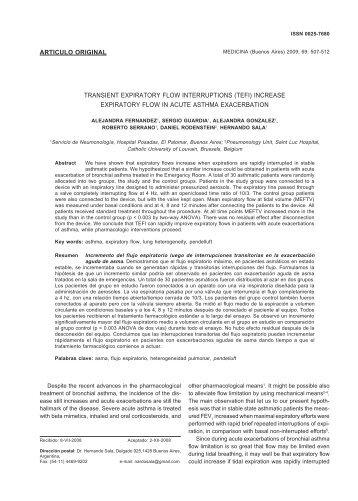 TRANSIENT EXPIRATORY FLOW INTERRUPTIONS (TEFI ...