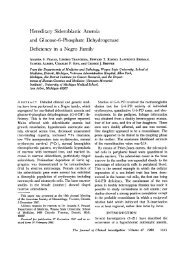 and Glucose-6-Phosphate Dehydrogenase - Journal of Clinical ...