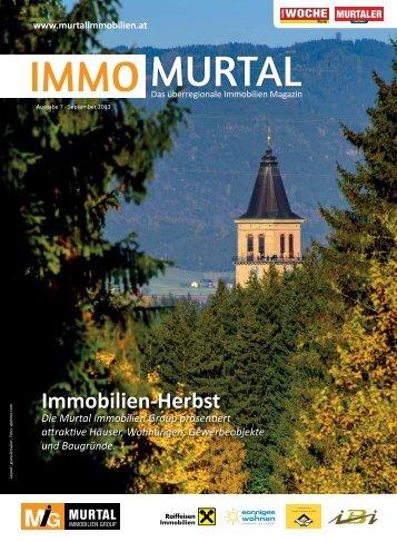 Immomurtal 09/2013 - Immobilien Josef Suppan GmbH