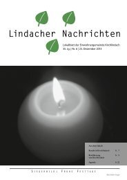 Dezember 2013 - Kirchlindach