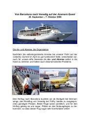 Azamara Quest - Urlaub auf hoher See