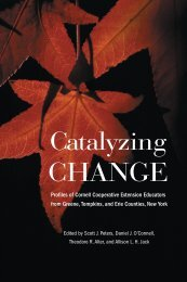 Catalyzing Change - Southern Rural Development Center