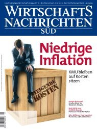 Ausgabe 11/2013 Wirtschaftsnachrichten Süd