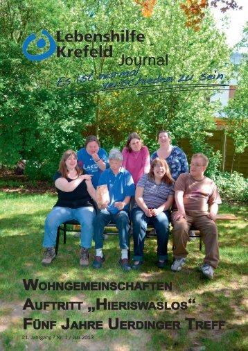 Journal Journal Jou Journal - Lebenshilfe Krefeld