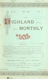 The Highland monthly - National Library of Scotland