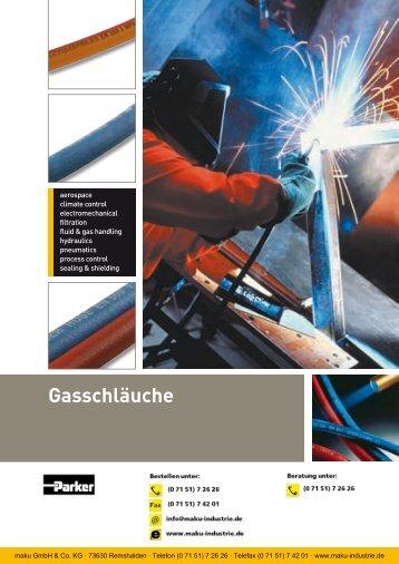 Katalog: 73-4100-DE Gasschläuche - Parker