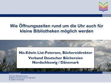 Offene Bibliothek - Verband Schweizer Bibliotheken SAB