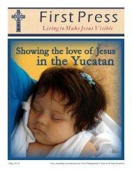 Living to Make Jesus Visible - First Presbyterian Church