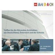 Treffen Sie die führenden Architekten aus Deutschland, Österreich ...