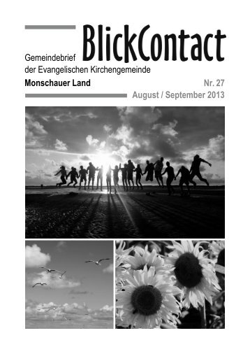 August / September 2013 - Evangelische Kirchengemeinde ...