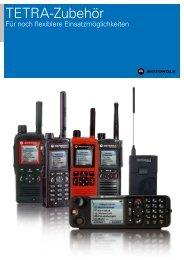 TETRA Zubehör (3Mb pdf) - Motorola Solutions