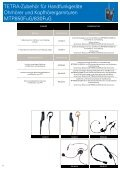 TETRA Zubehör (3Mb pdf) - Motorola Solutions - Page 6