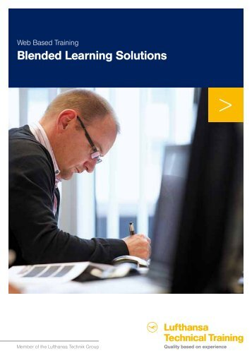 Blended Learning Solutions - Lufthansa Technical Training
