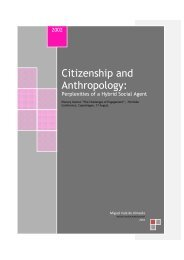 Citizenship and Anthropology: - Miguel Vale de Almeida
