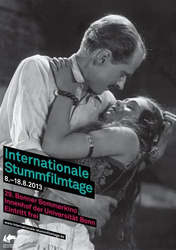 Internationale Stummfi lmtage - Bonn International