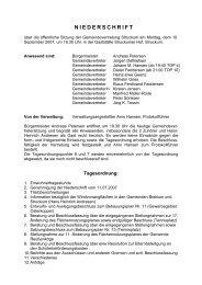 NIEDERSCHRIFT - struckum's neue Internetpräsenz auf Funpic.de