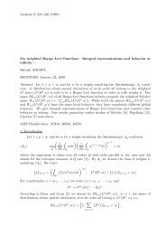 Analysis 9, 323–346 (1989) On weighted Beppo Levi functions ...