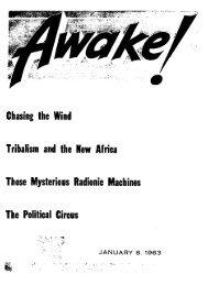 1963 Awake! - Watchtower Archive