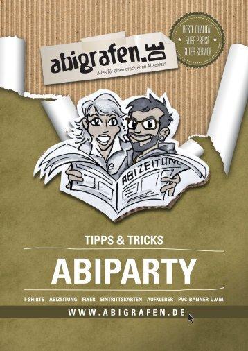 Abiparty / Planung & Durchführung - abigrafen.de